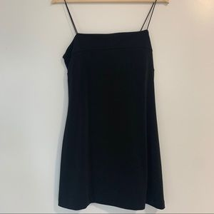 Urban Outfitters Black Strappy Dress